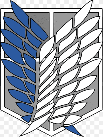 A O T Wings Of Freedom Attack On Titan Anime Scouting Scout Angle Emblem Leaf Png Attack On Titan Symbol Attack On Titan Aesthetic Attack On Titan Tattoo