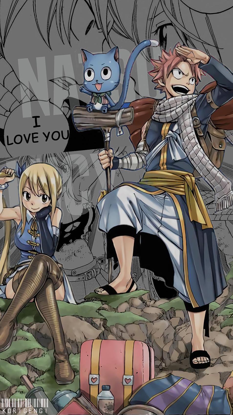Natsu X Lucy Korigengi Wallpaper Anime Fairy Tail Art Fairy Tail Family Fairy Tail Ships