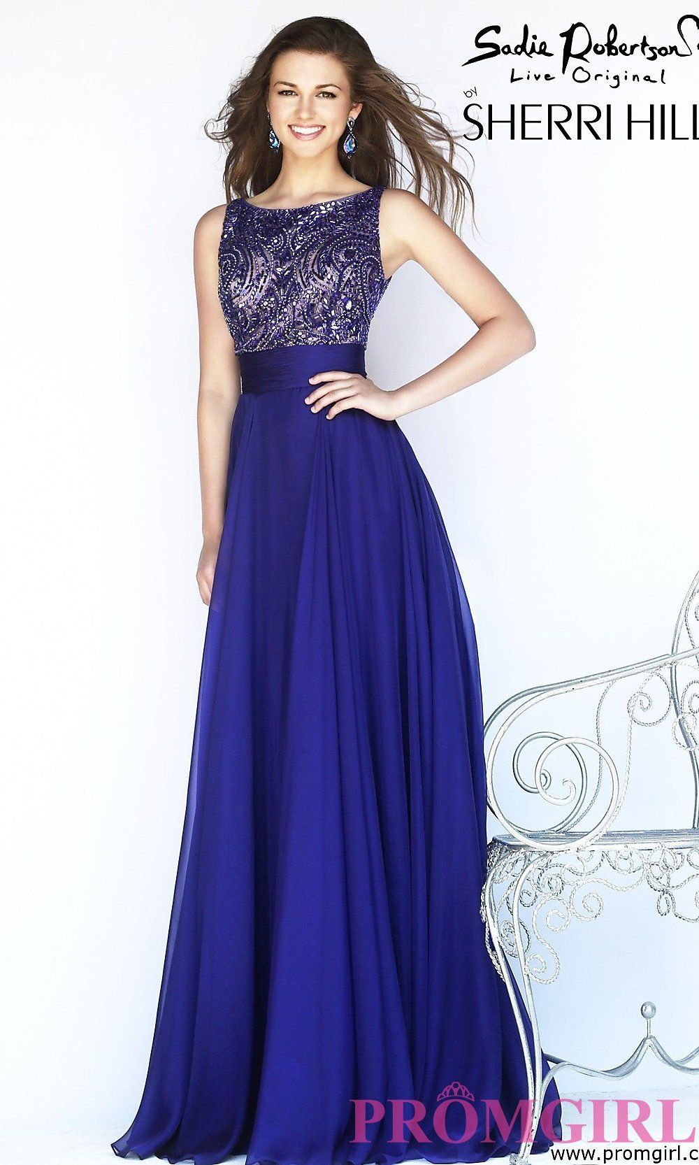 I love Sheri hills dresses | Prom | Pinterest | Color azul electrico ...