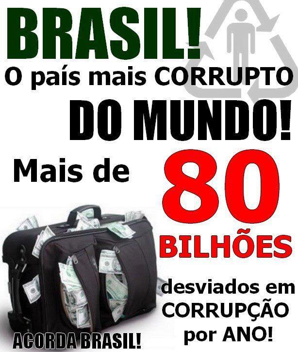 Resultado de imagem para corruptos brasileiros
