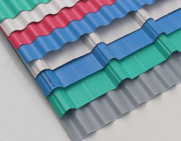Corrugated Plastic Roofing Panels