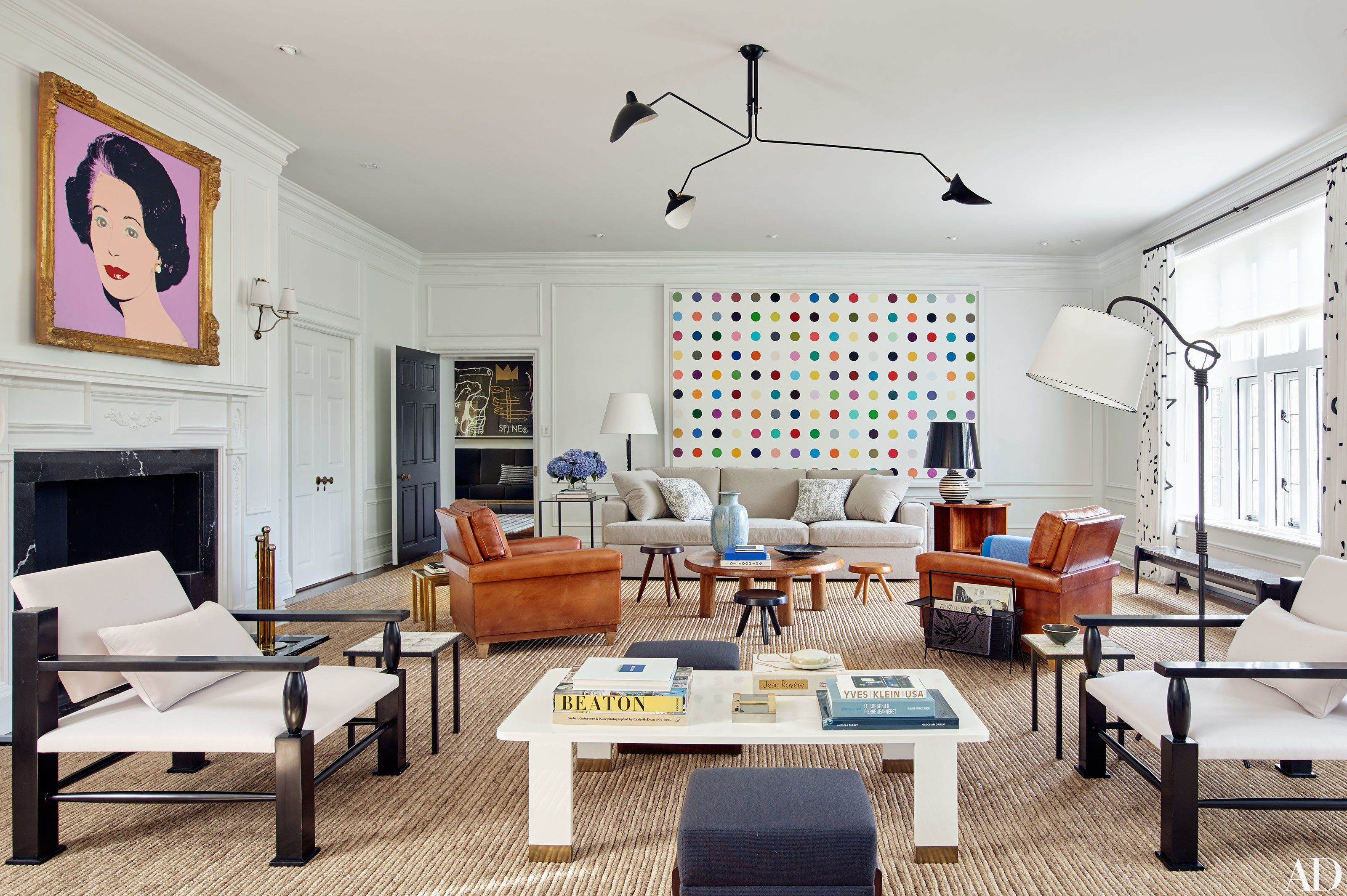 manhattan interiors drew aaron and hana soukupova s manhattan apartment Architectural Digest just featured an ultra-chic home designed by Mark  Cunningham for model Hana Soukupova and her husband, entrepreneur Drew Aaron .