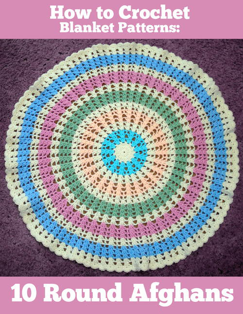 How-to-crochet-afghan-pattern free ebook | round afghans | Pinterest ...