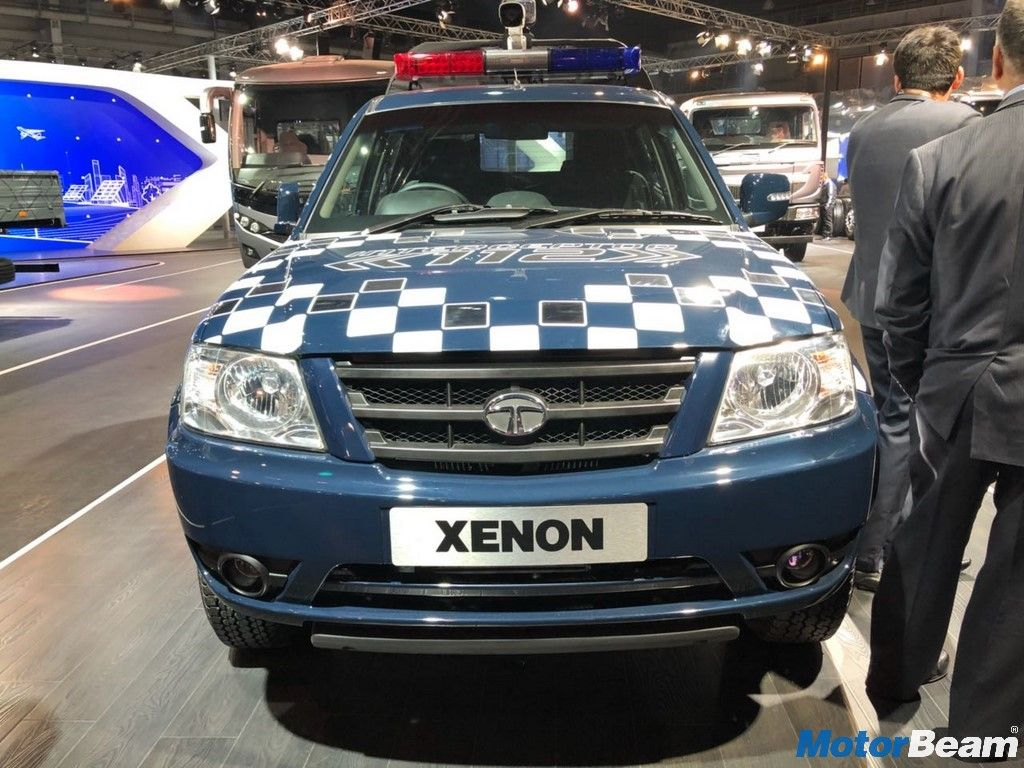 Tata Xenon Interceptor Showcased At Auto Expo 2018 Interceptor Tata Auto