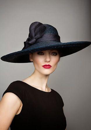 7d7d669b3e4 FASHION  Elegant   Stylish hat designs by Rachel Trevor-Morgan (01 ...