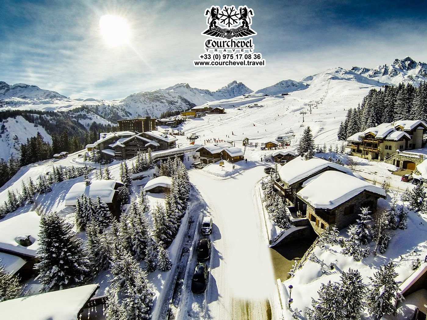 Courchevel Ski Resort, France The most exclusive ski resort in Europe. http://courchevel.travel/