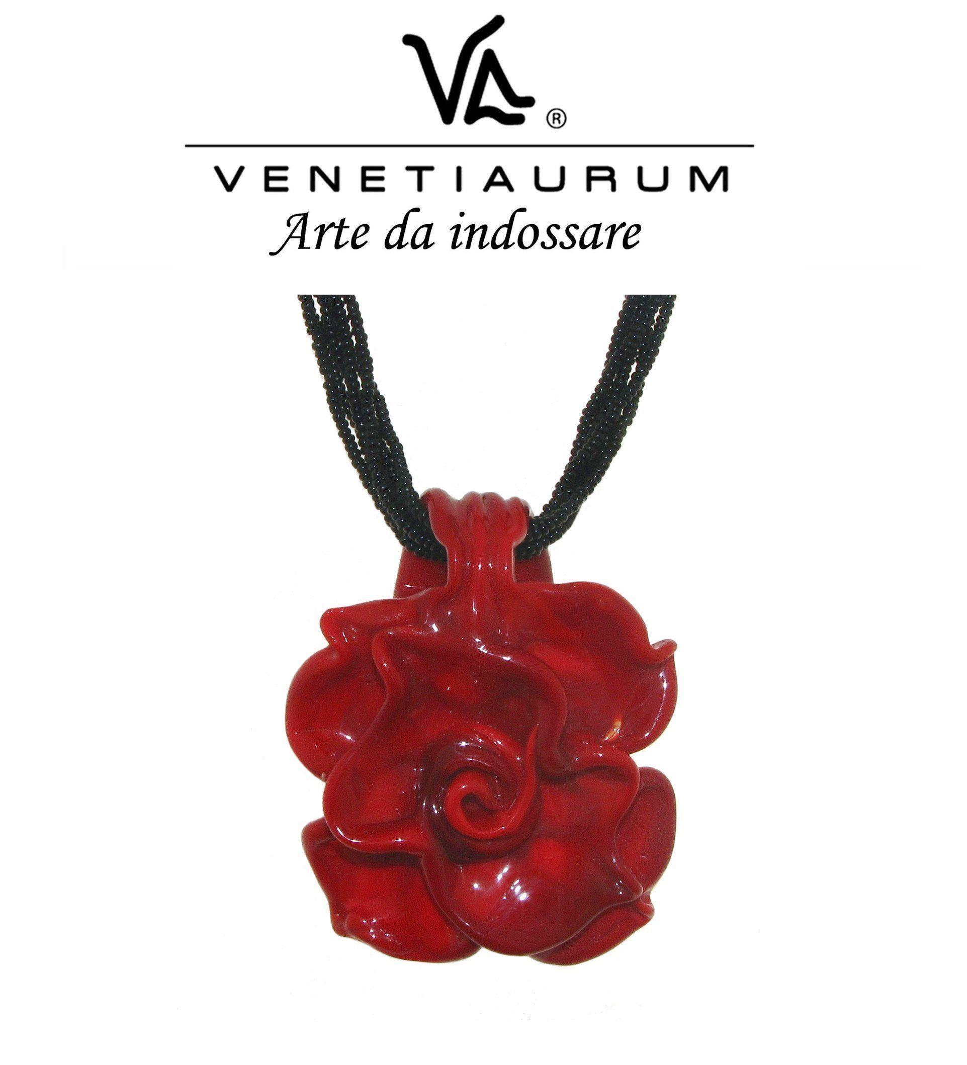 Orecchini donna in vetro originale di Murano e argento 925 Gioiello Made in Italy certificato Venetiaurum