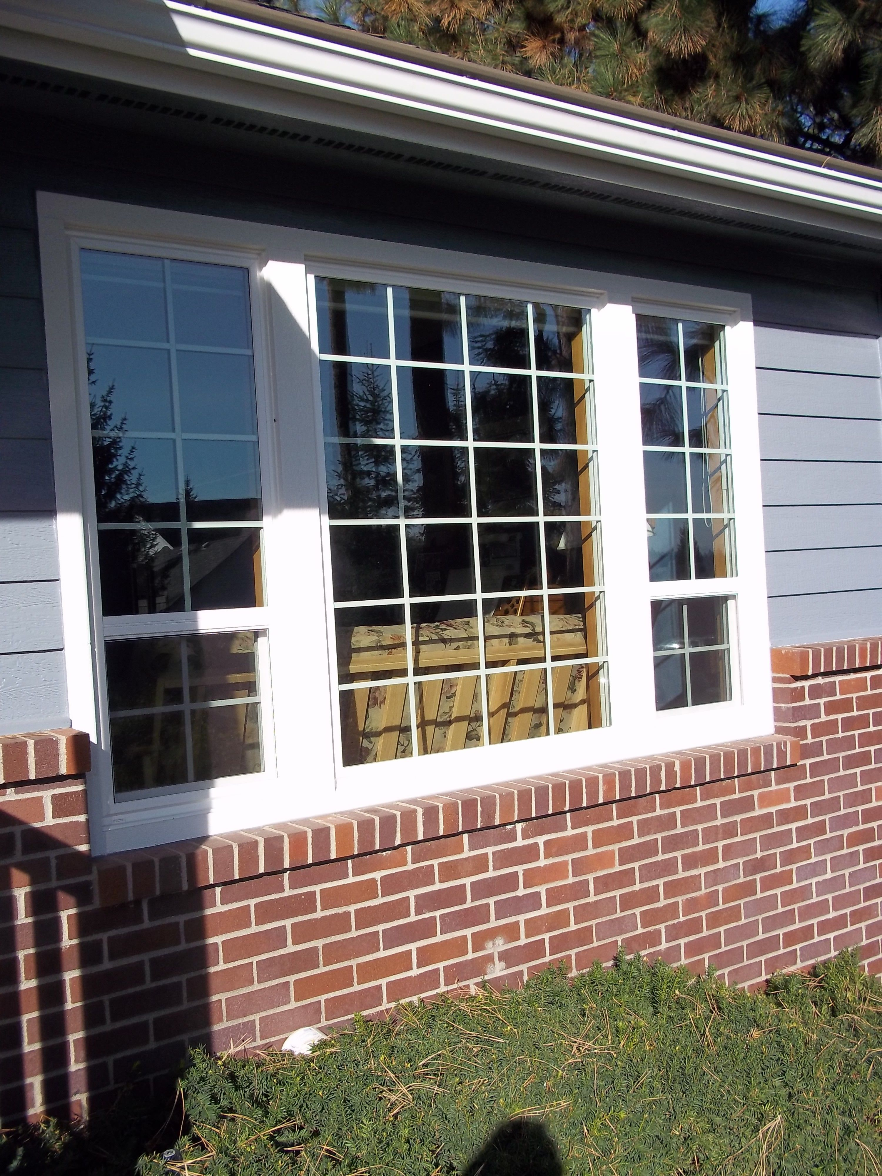 Vpi Custom Window Installation Project South Hill Spokane With