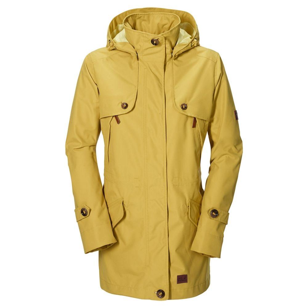 Jack wolfskin avenue coat schwarz
