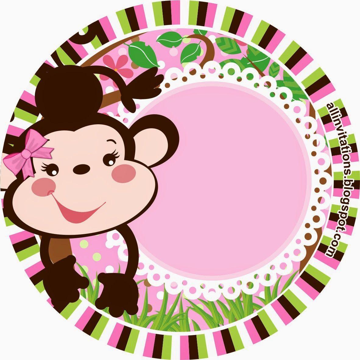 Etiqueta redonda changuita | baby de miguel angel | Pinterest ...