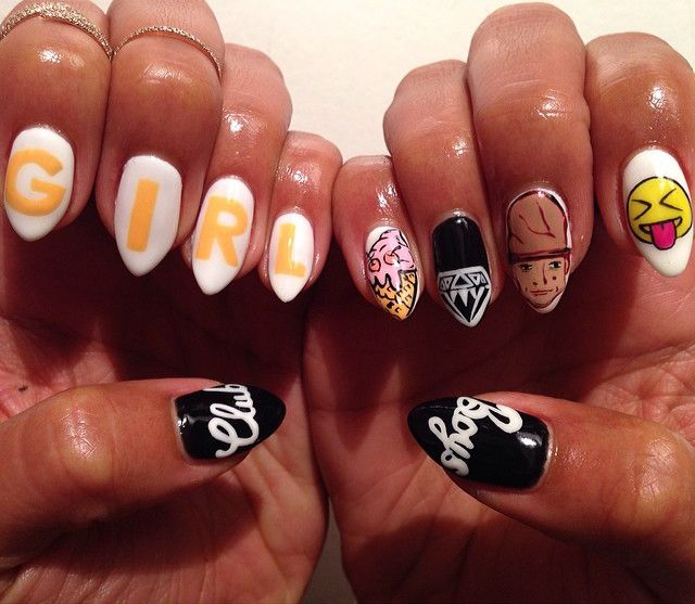 Designs To Make You Step Your Gel Nail Art Game Up   K is for Kinky ...