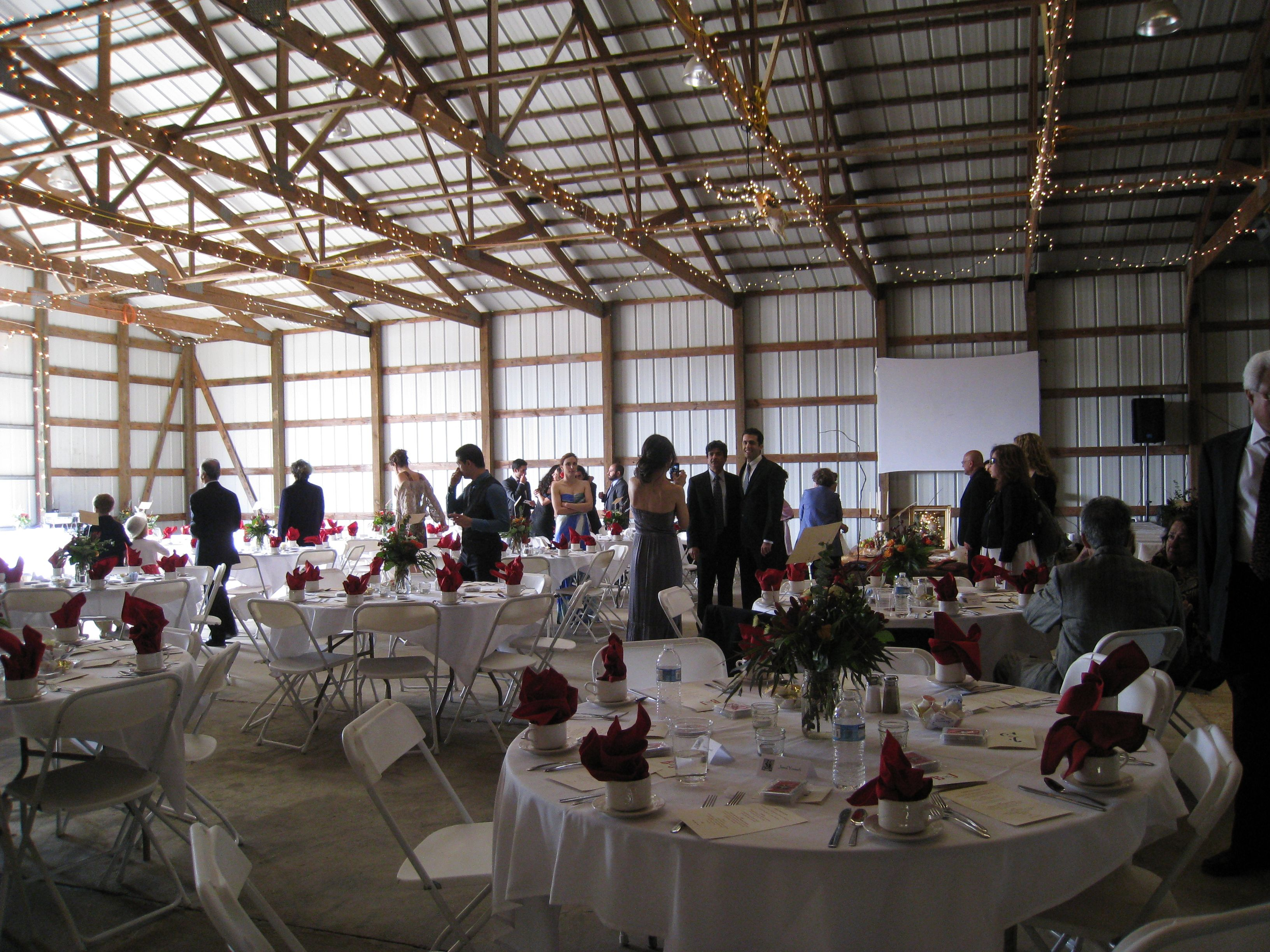 barn wedding venues twin cities%0A Great for a back up plan for rainy outdoor weddings at the gazebo farm  wedding