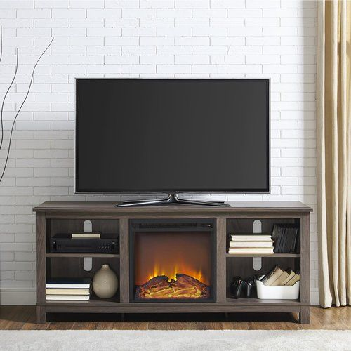Gaither Tv Stand For Tvs Up To 60 With Fireplace Included Tv