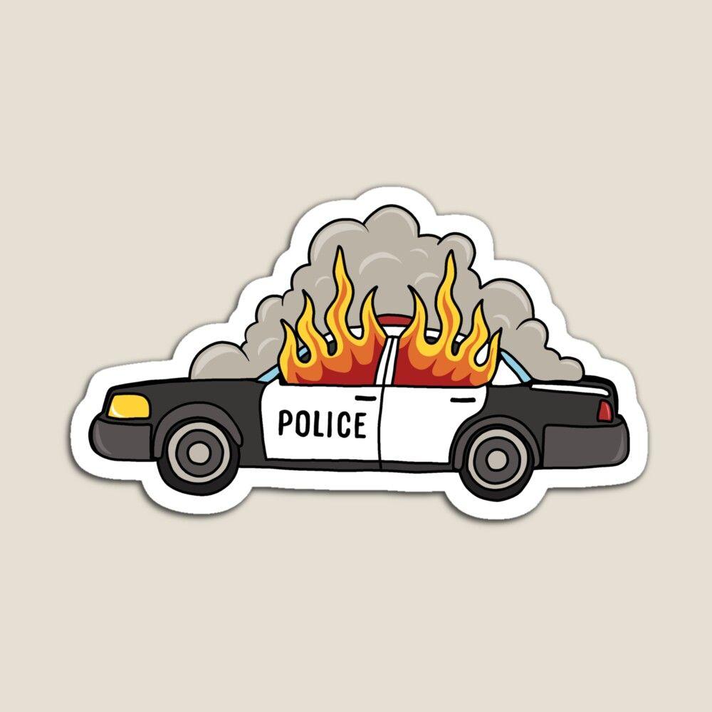 Burning Car patch