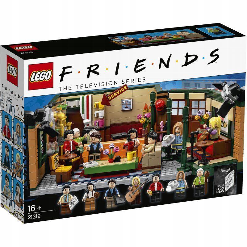 Lego Ideas 21319 Central Perk Serial Przyjaciele 8807706158 Oficjalne Archiwum Allegro Friends Central Perk Lego Friends Friends Tv Show