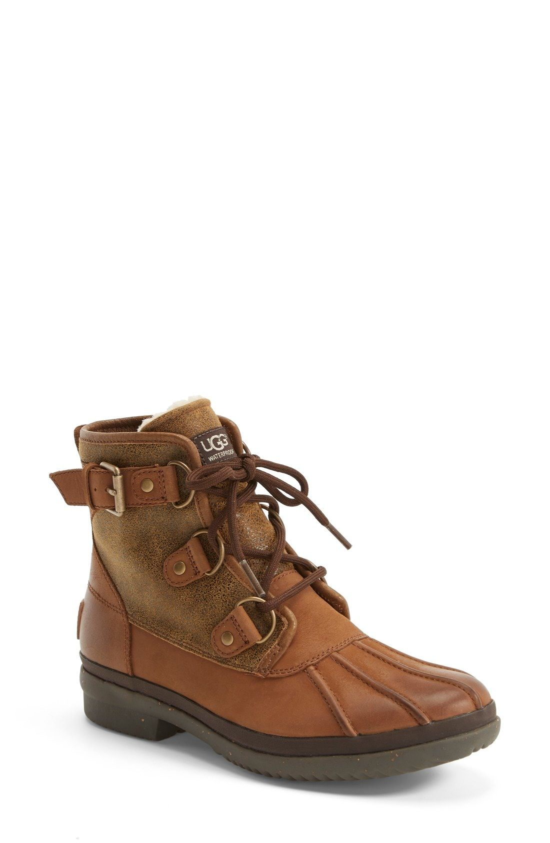 7eea3b6e62d UGG® 'Cecile' Waterproof Boot (Women) available at #Nordstrom ...