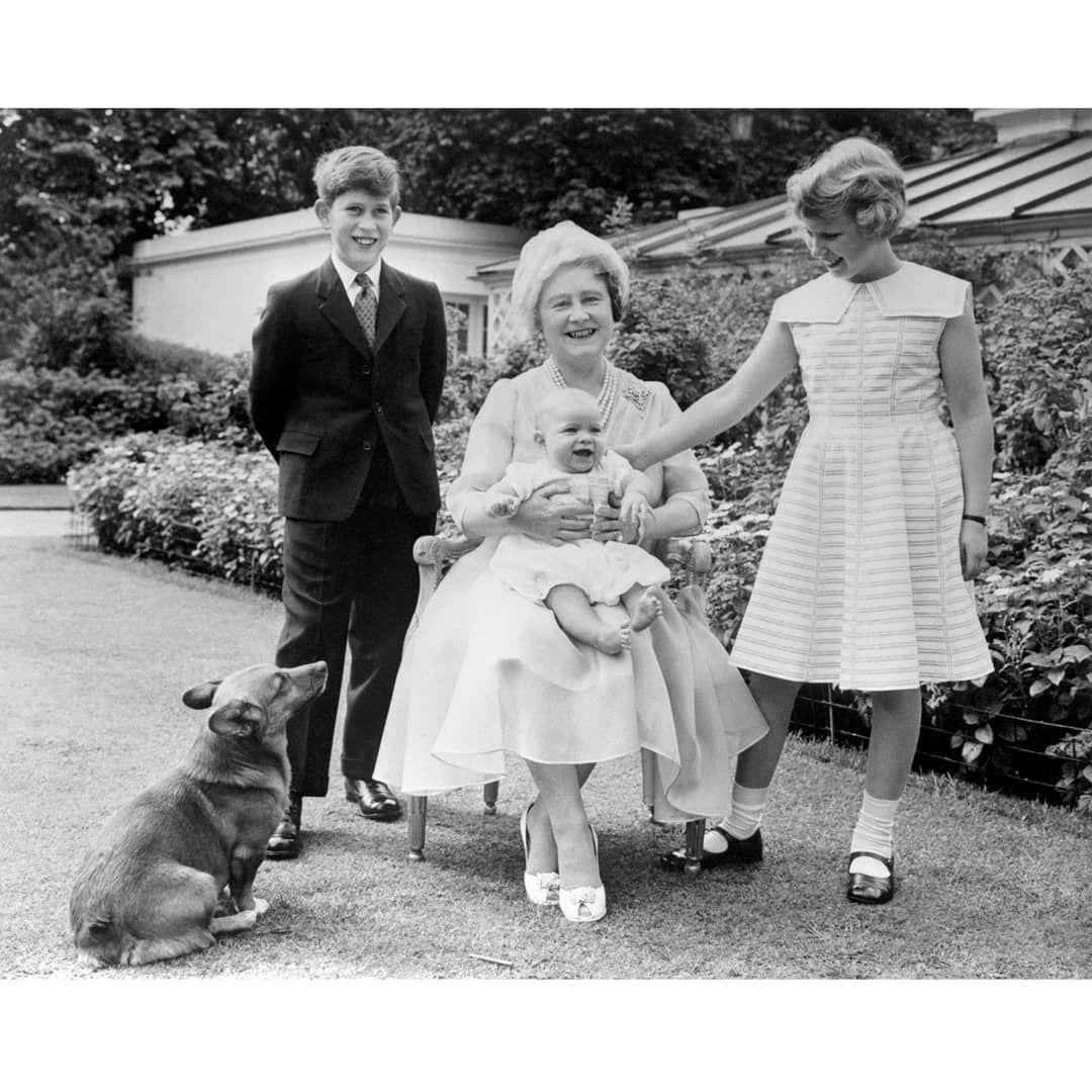 OTD in 1900, Queen Elizabeth The Queen Mother was born