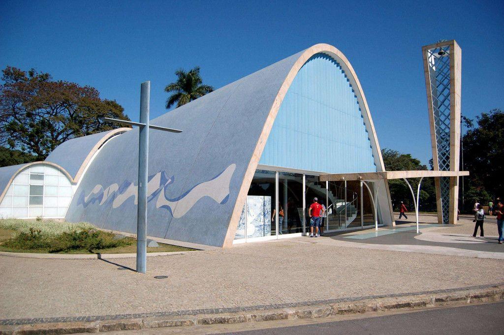 Galeria De Classicos Da Arquitetura Igreja Da Pampulha Oscar
