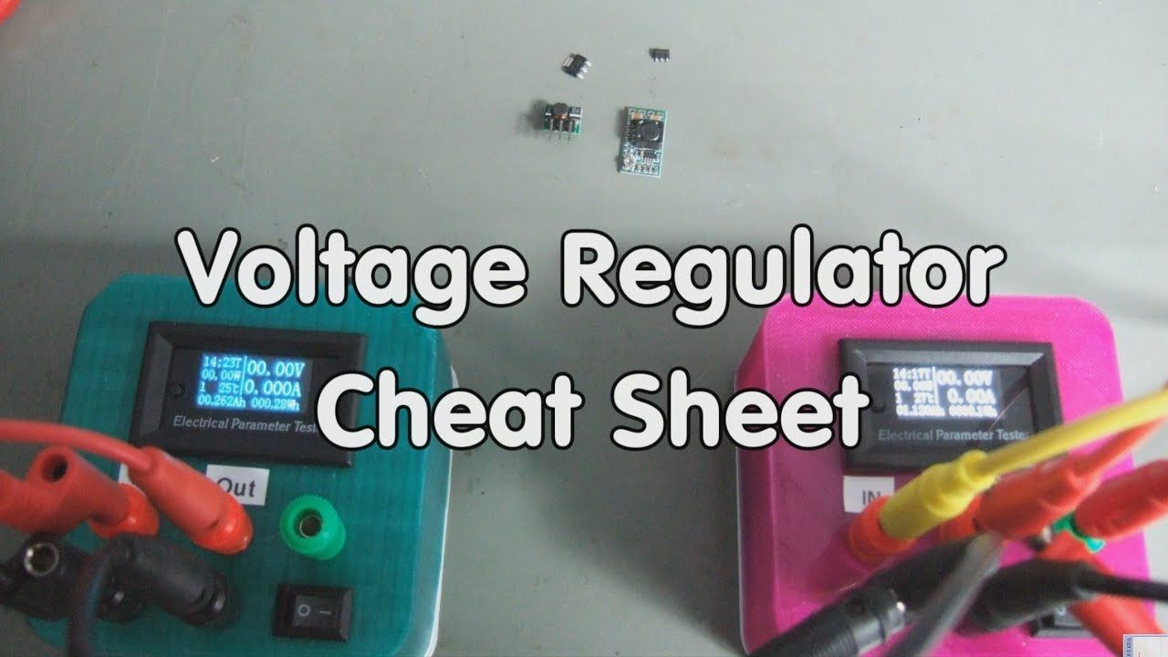 183 How to select voltage regulators for small projects? (ESP8266 ...
