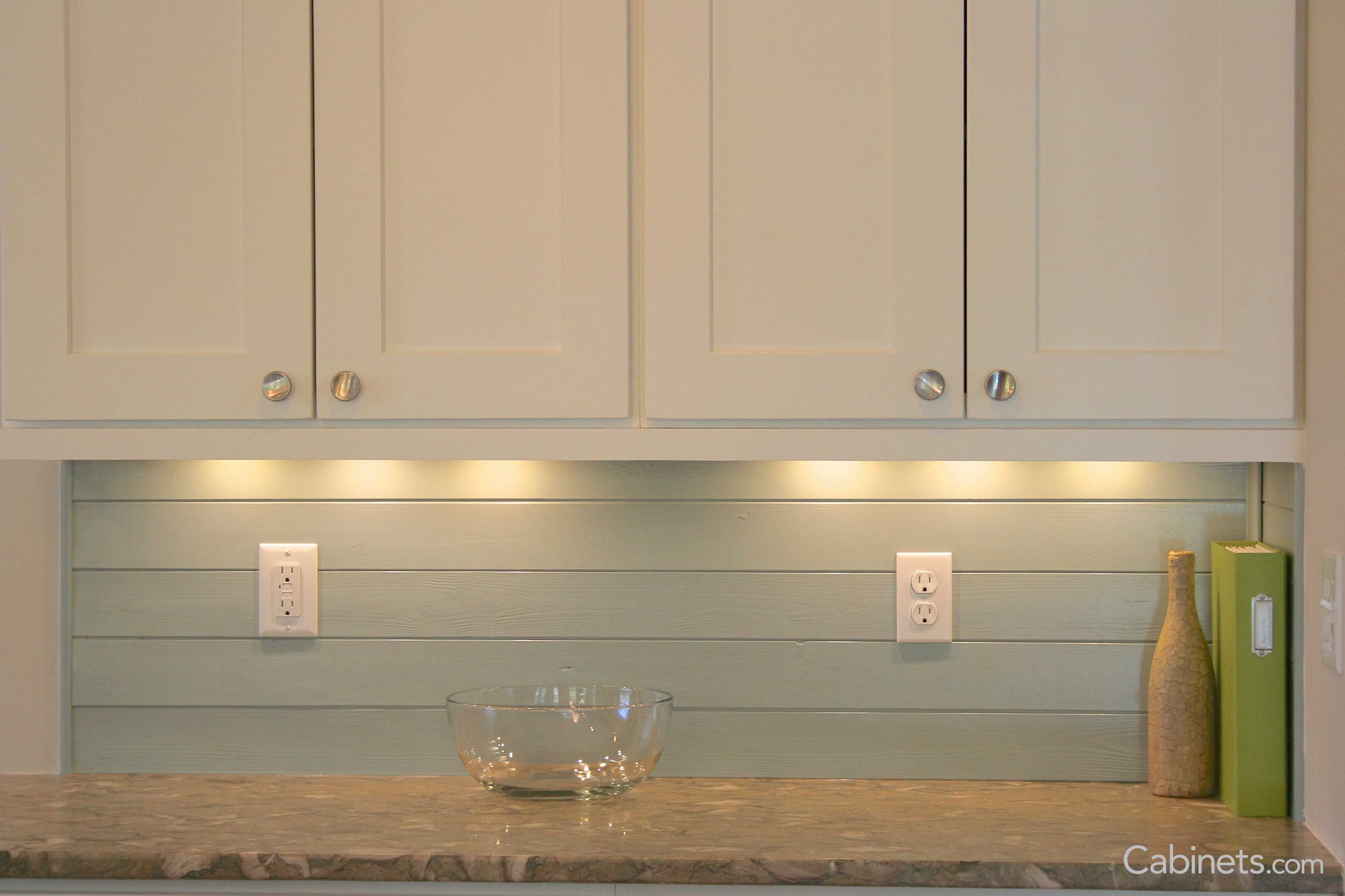 Think Outside The Tile Box When It Comes To Your Backsplash Shiplap Is A Great Alternative Especially When It Adds A Hint Of Color