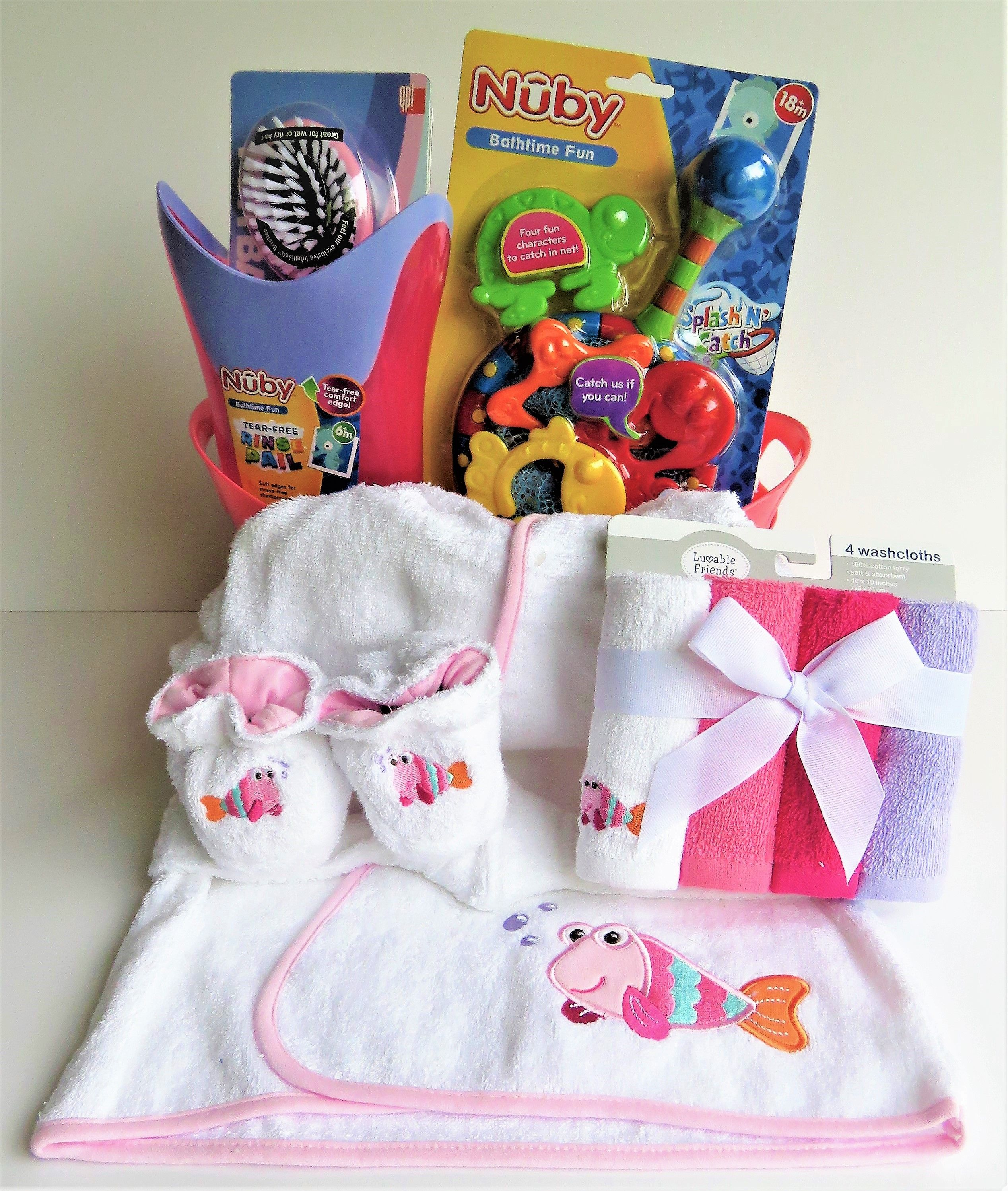 Like A Fish In The Water Bath Gift Basket For