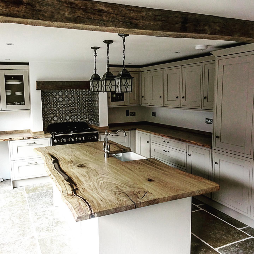 Bespoke Refined Wood Resin Tables Live Edge Tops Earthy Timber Timber Kitchen Kitchens Live Edge Kitchen Interior