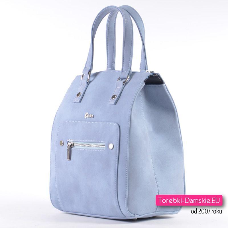 1cf7dabdc5101 Pastelowa błękitna torba damska z najnowszej kolekcji Wiosna   Lato 2018