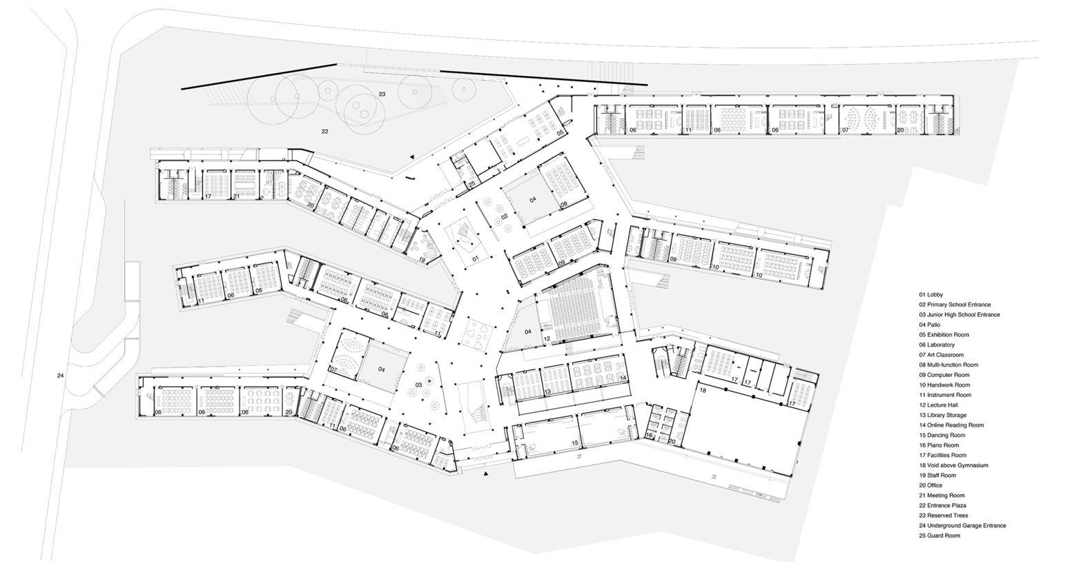 lecture plan architecte