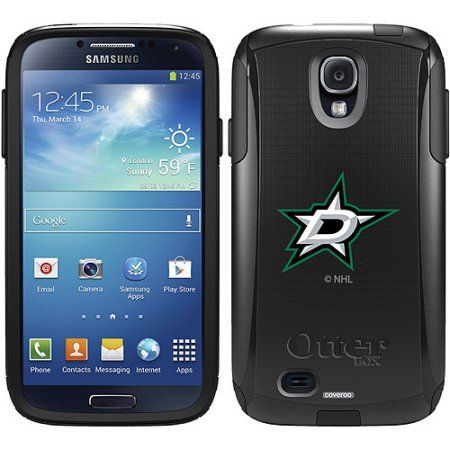 Dallas Stars Primary Logo Design on OtterBox Commuter Series Case for Samsung Galaxy S4