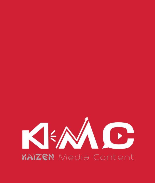 KAIZEN MEDIA CONTENT