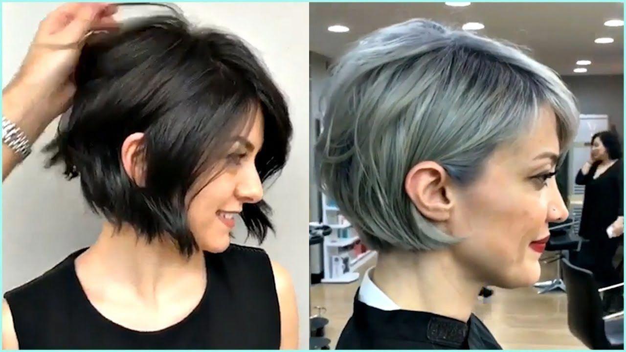 14 Gorgeous Short and Premium Bob Haircut for Women 😍 - YouTube #wavybobhaircut | Edgy bob ...