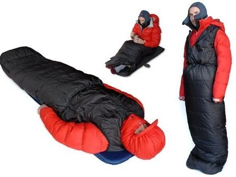 Sleeping Bag Alpkit Pipedream 200 Is Half Jacket The Top Meant To Be Worn Under A Coat For Extra Warmth