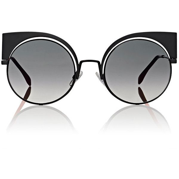 4aeaf3ce8267 Fendi Women s FF0177 Sunglasses ( 555) ❤ liked on Polyvore featuring  accessories
