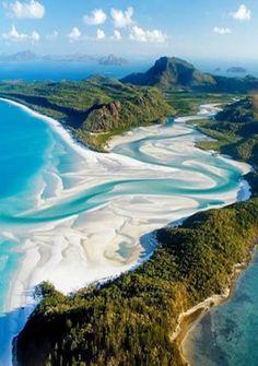 White Heaven Beach, Australia.