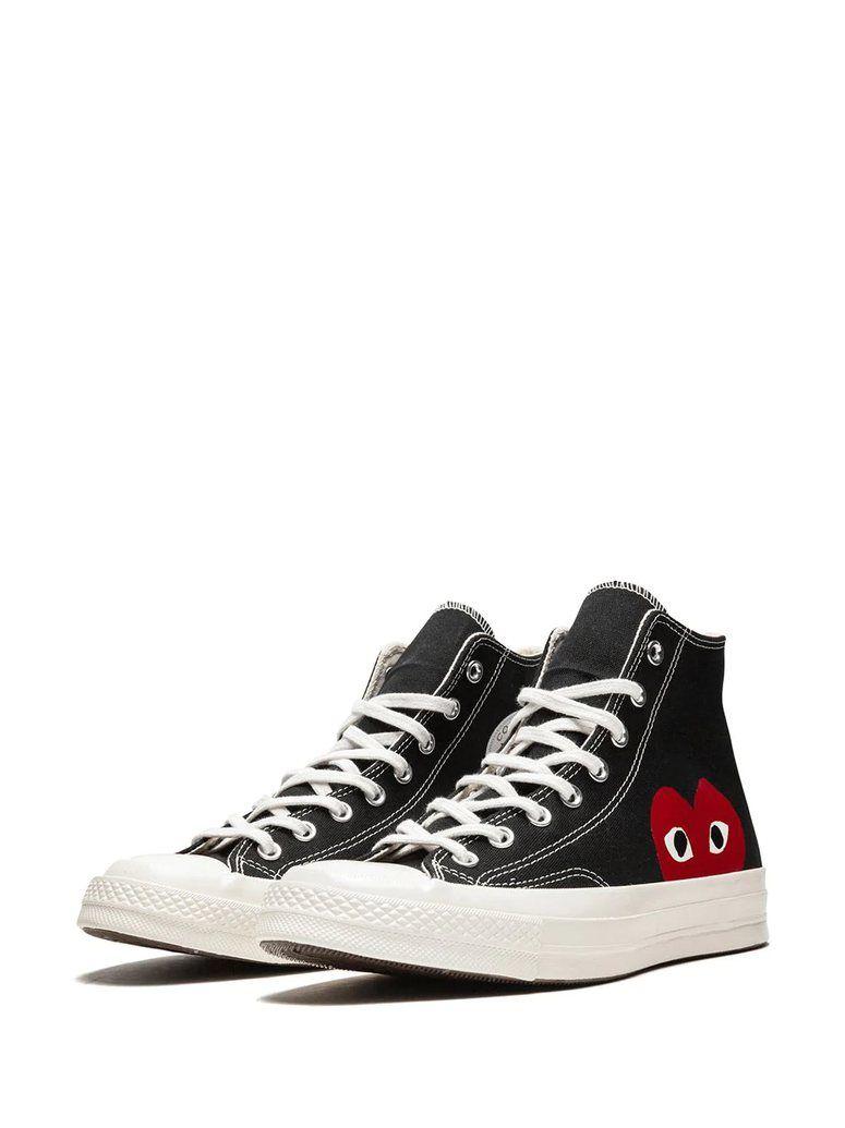 Converse X Comme Des Garcons Chuck 70 Hi Sneakers Black The Urge Us Converse Sneakers Sneakers Black