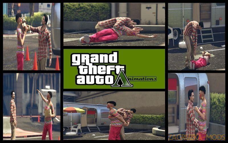 Favourite Animations For Menyoo V0 9 For Gta 5 Grand Theft Auto V Gta Gta 5 Animation