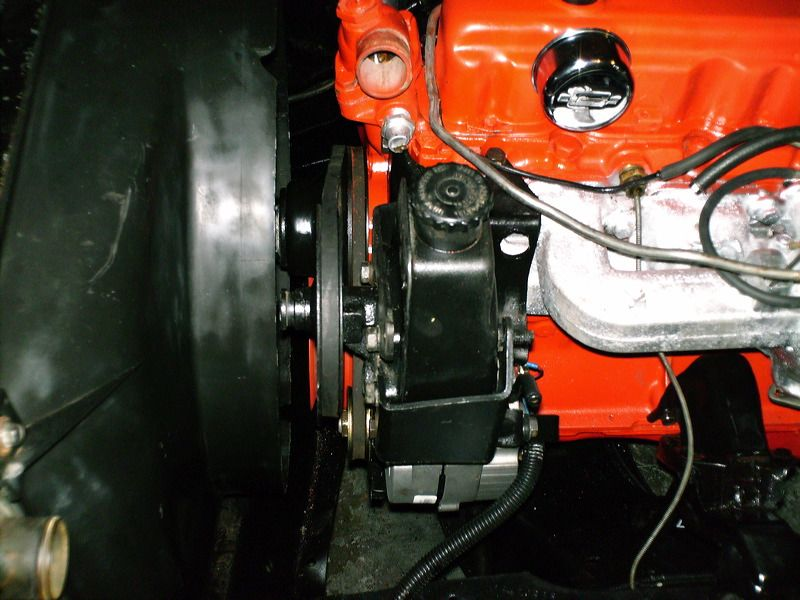 power steering bracket for an inline 6 the 1947 present