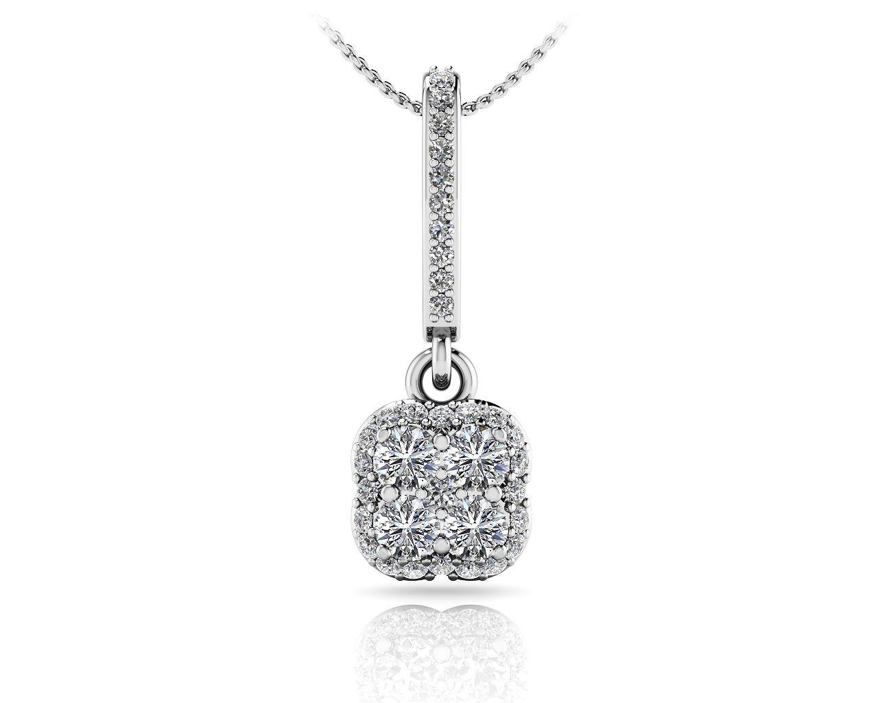 Lucky in Love Diamond Pendant