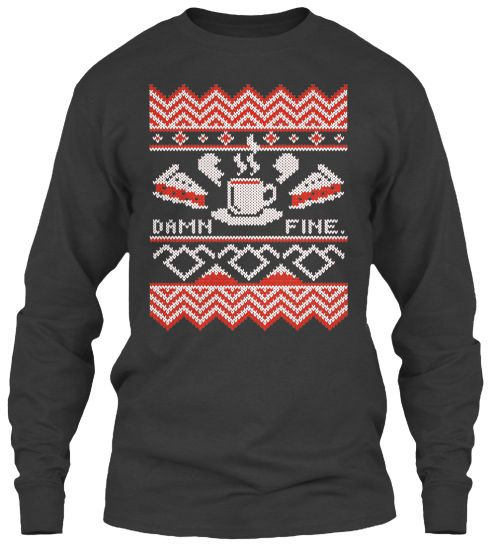 Twin Peaks Limited Edition Teespring Ugly Christmas Sweater Xmas