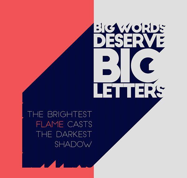 Typographie : Elle est gratuite et elle sappelle « Big John / Slim Joe »