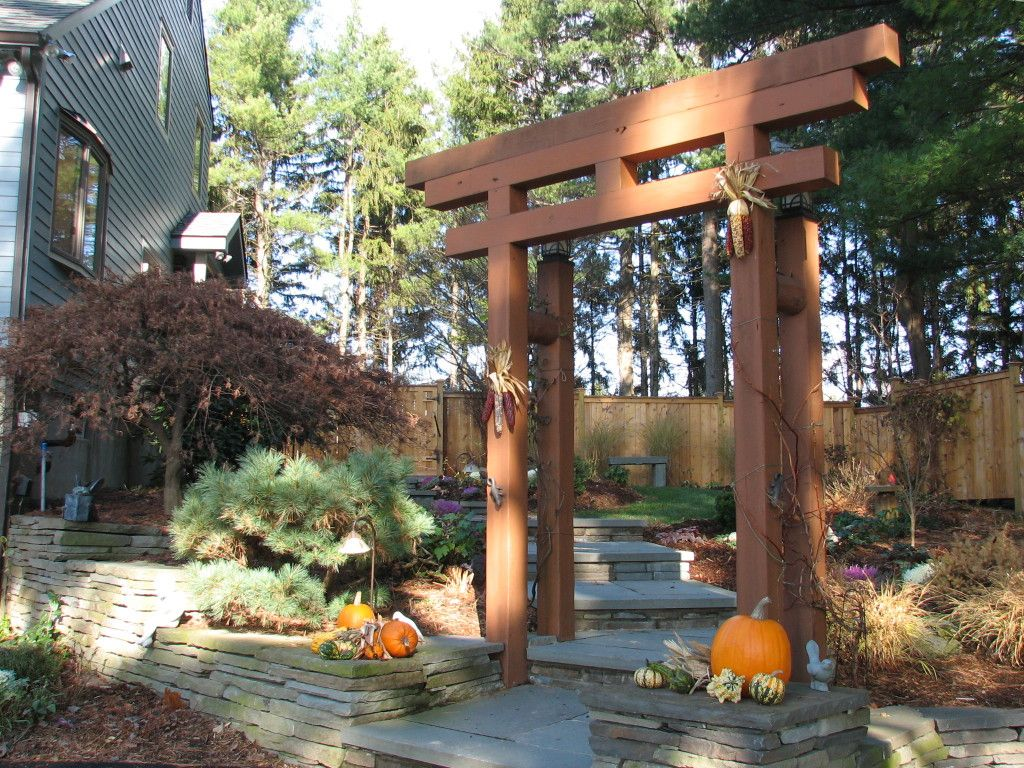 Japanese Garden with Arbor located in New Paltz, NY | deco ...