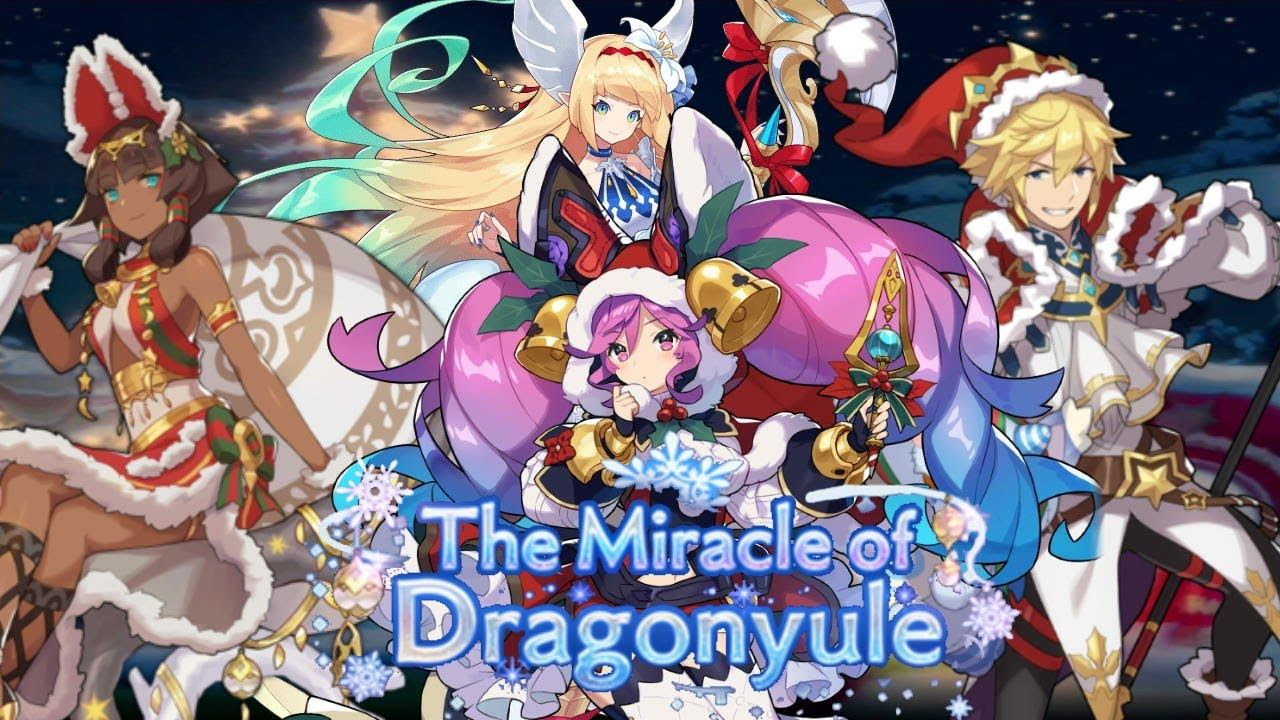 Dragalia Lost The Miracle Of Dragonyule Event In 2020 Light Novel Event League Of Legends