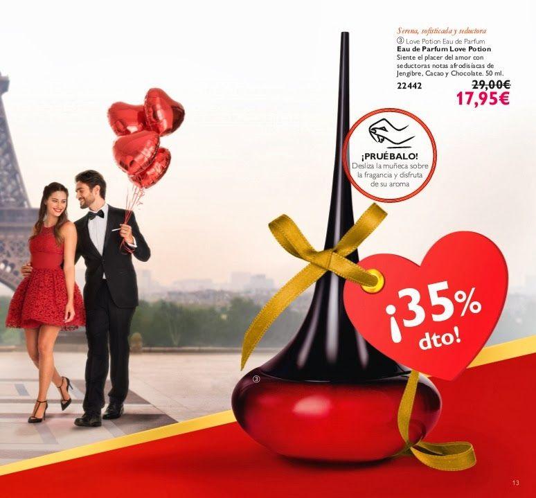 EAU DE PARFUM LOVE POTION / código. 22442 17.95€