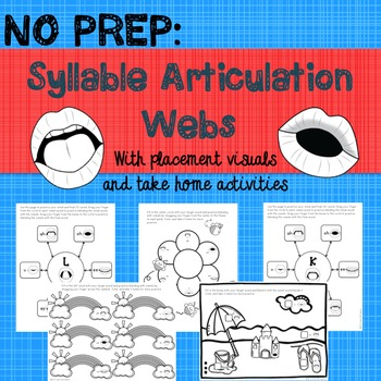 This product includes: 20 syllable articulation webs (pages 4-23)-/h/, /m/, /p…