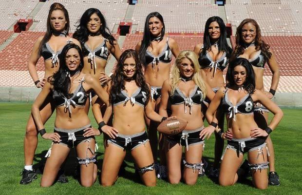 American football women sexy