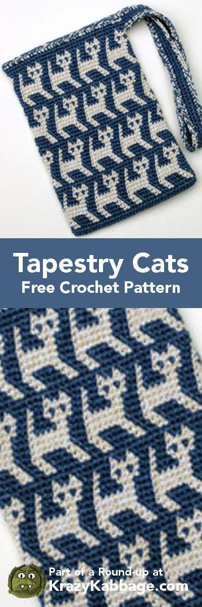 Excelente Intarsia Crochet Patterns Foto - Ideas de Patrones de ...