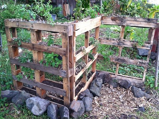 Pallet Garden Wall | Ideas For Use Of Pallets | Pinterest | Garden Fencing,  Herbs Garden And Pallets
