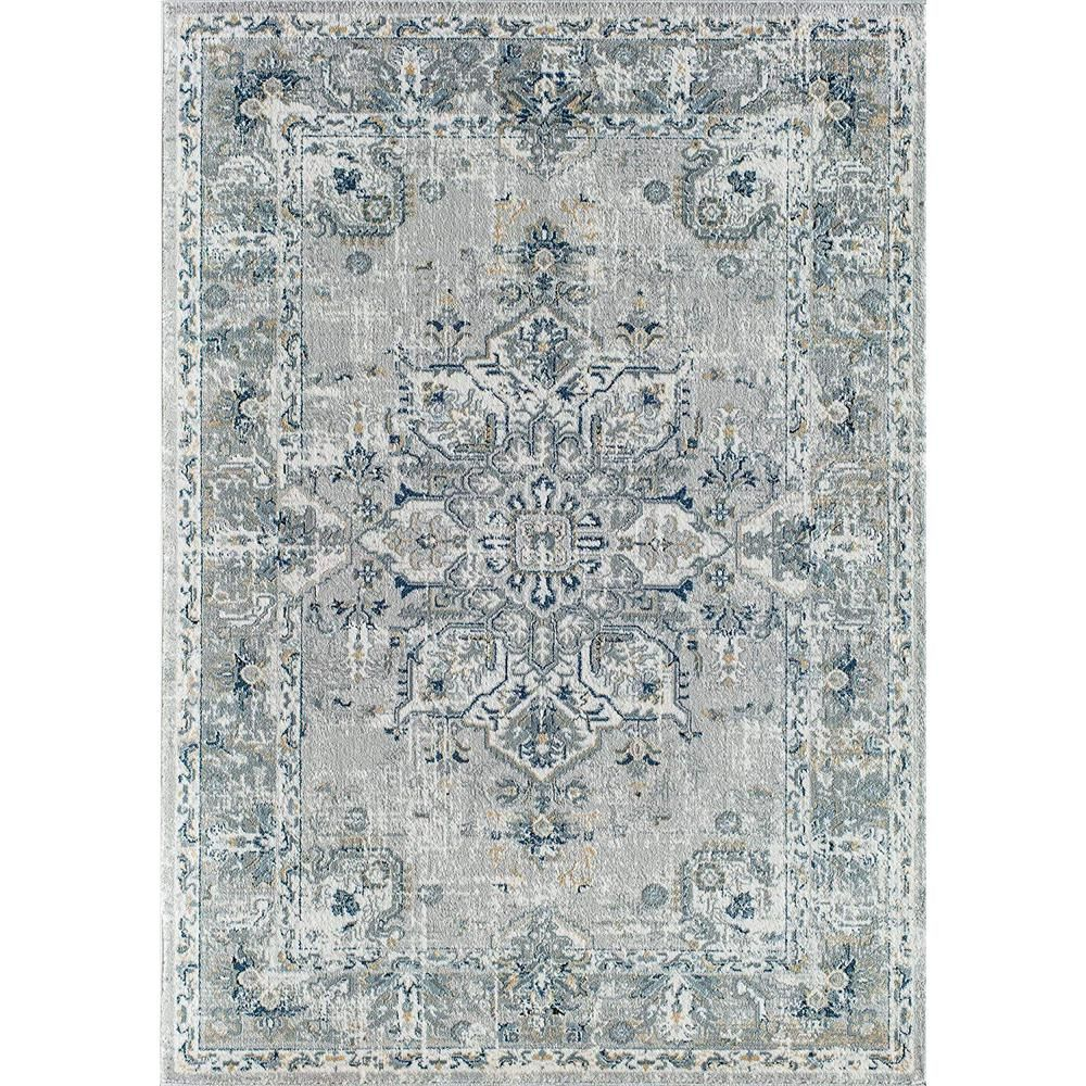Rugs America Alastair Helena Voyager Gray 8 Ft X 10 Ft Area Rug Ra30096 The Home Depot Rugs America Area Rugs Grey Rugs