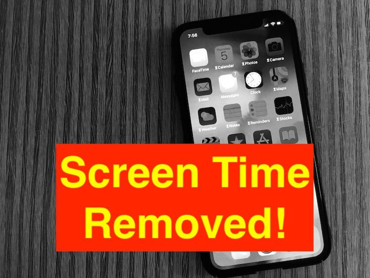 2 Methods: Bypass Screen Time on iPad, iPhone: iOS 12, App ...
