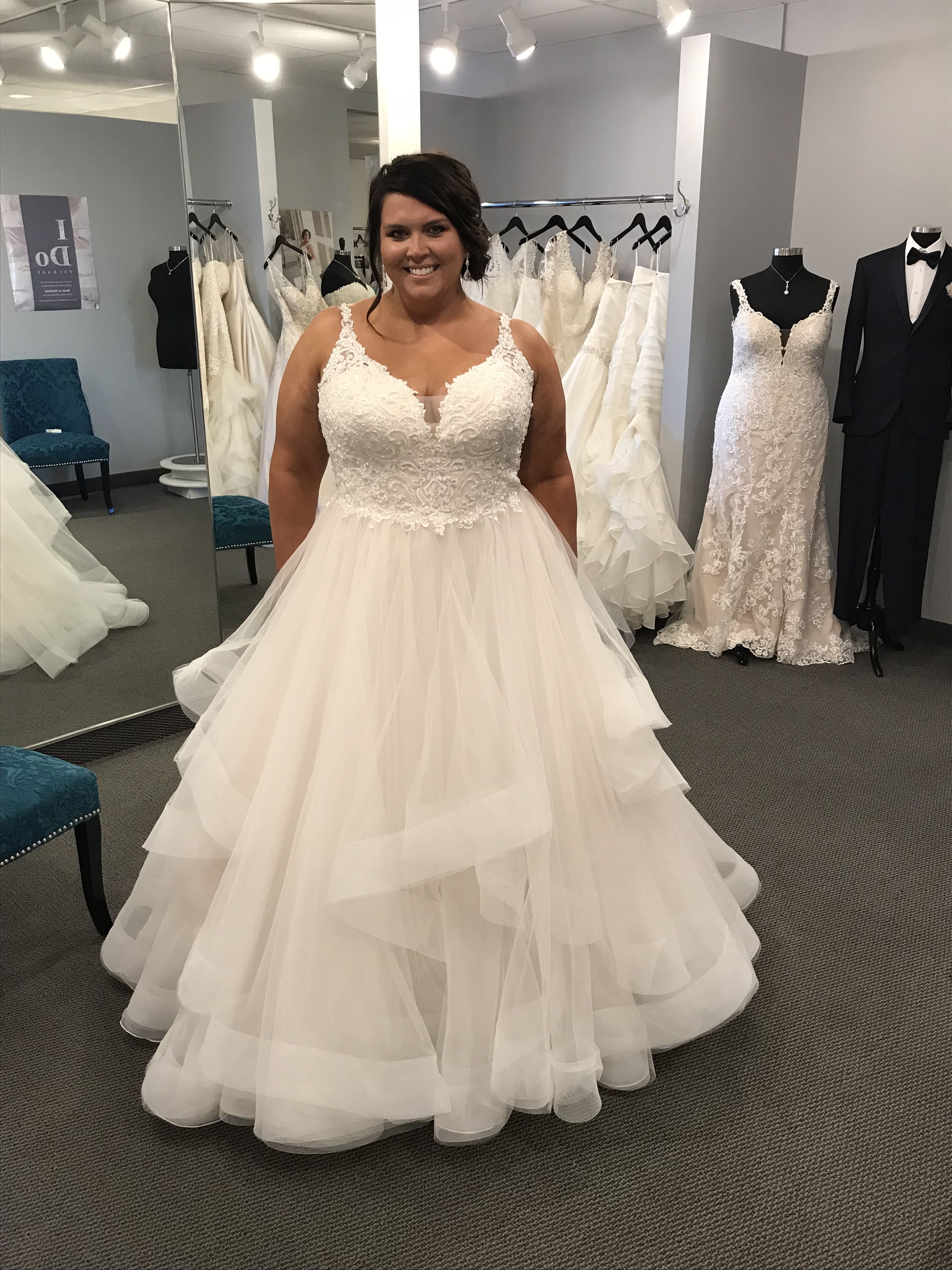 Sexy wedding dresses for plus size
